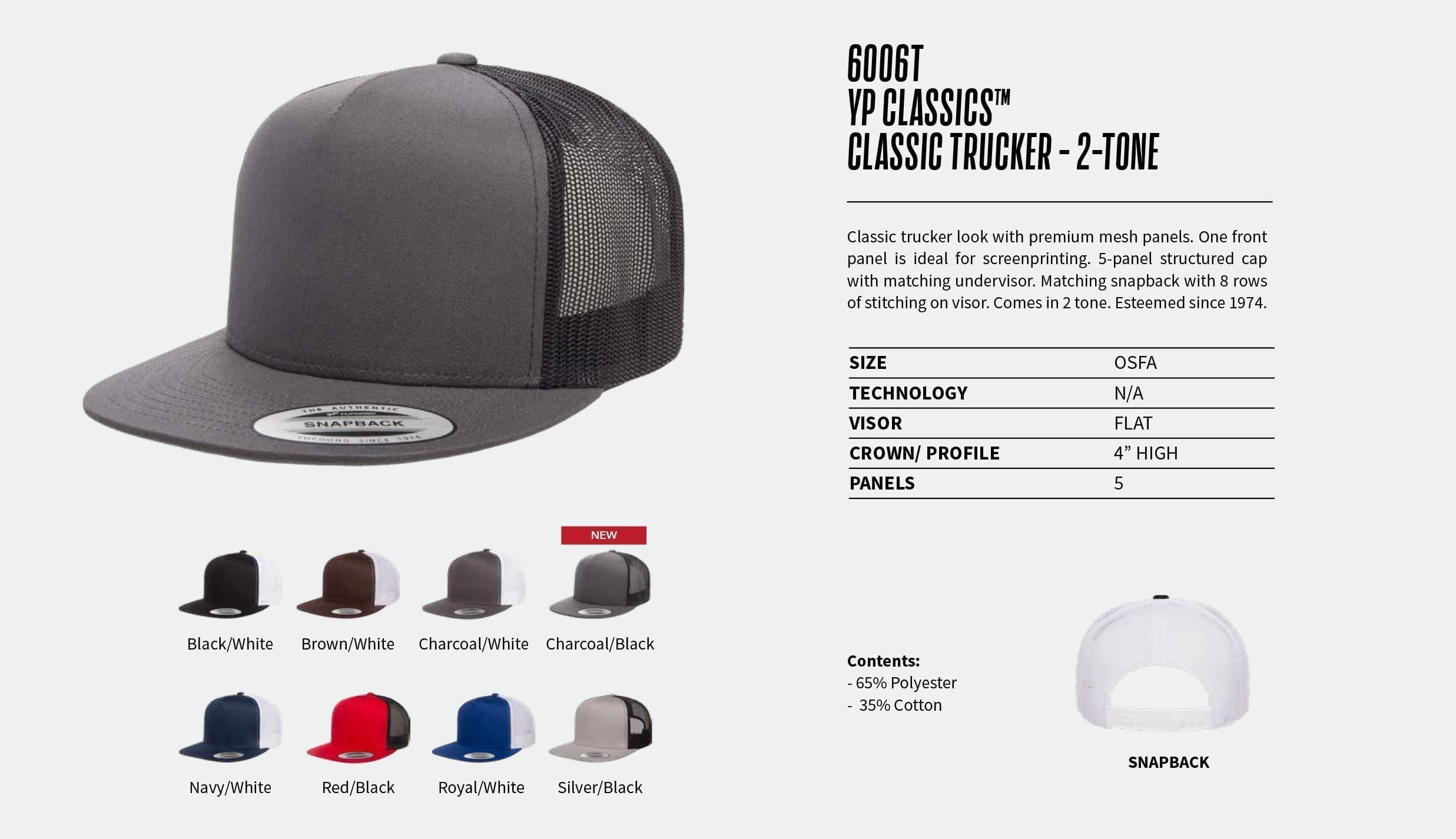 Baseball Hats | Yupoong | Ironclad Graphics