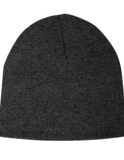 ATC105 Black Heather Beanie
