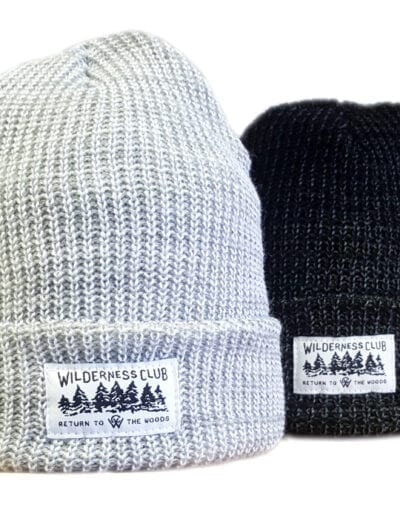 Toque with woven Label