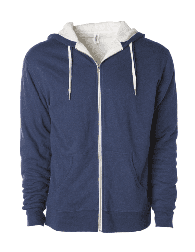 INDEPENDENT TRADING CO Sherpa Lined Hooded Sweatshirt