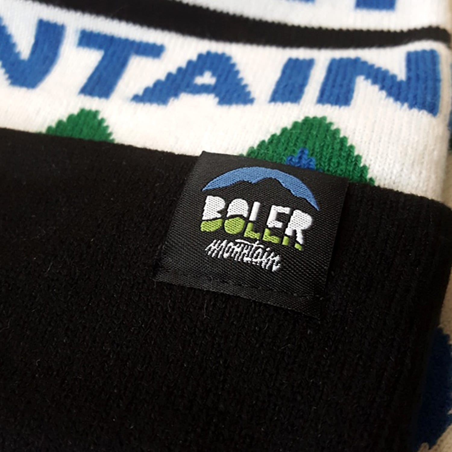 Custom Knit Toques Beanies Embroidered Patches