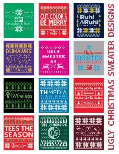 Ugly Christmas Sweater designs