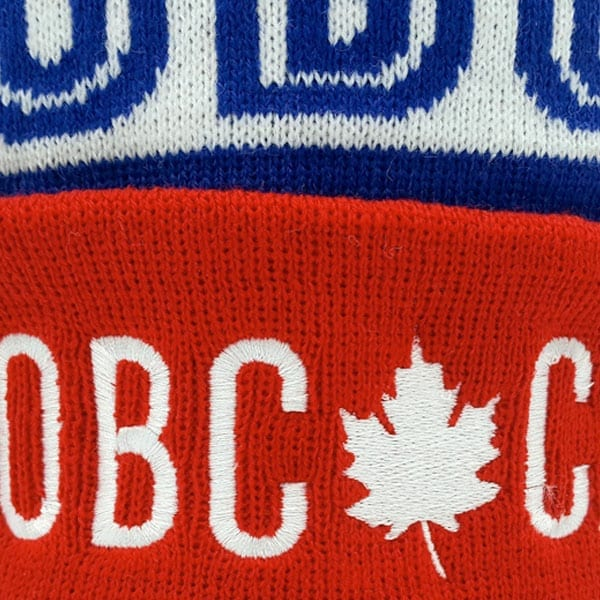 Custom Knit Toques Beanies Direct Embroidery