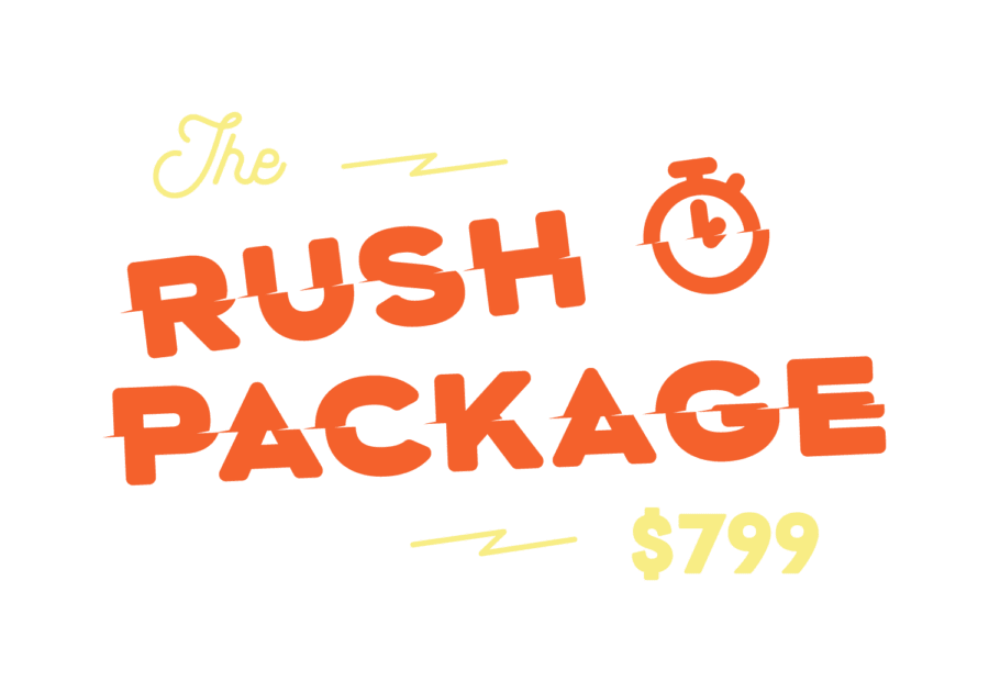 Rush screen Printing Packages from Ironclad Graphics